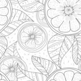 Lemons with leafs