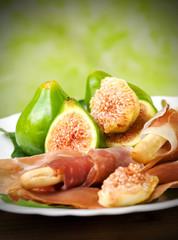 Ham and figs - Prosciutto e fichi