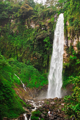 Waterfall in Central Java