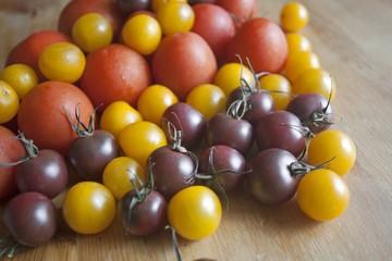 Fresh seasonal tomatoes