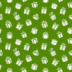 Green Gift Pattern
