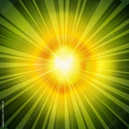 Radial Rays Background
