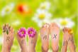 relaxing füße
