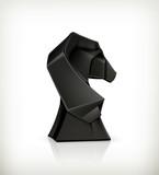 Paper horse origami