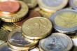 Money: Several Euro Coins
