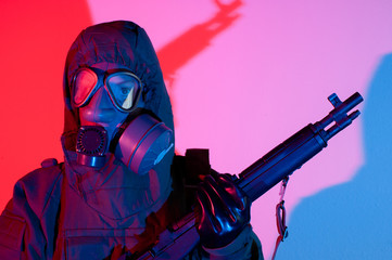 Chemical warfare security