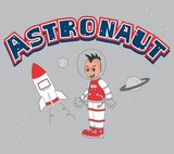 astronaut guy red