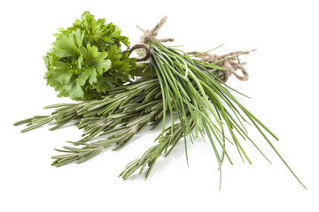 Different types of herbs