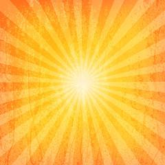 Sun Sunburst Grunge Pattern