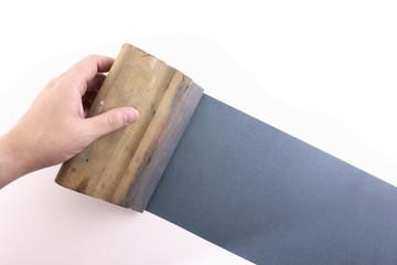 Blue silkscreening