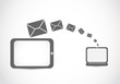 email mailing laptop tablet