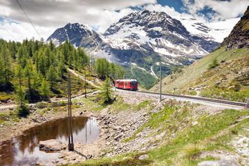 Bernina - trenino rosso