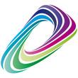 Farbkreis - Logo - Bogen oval