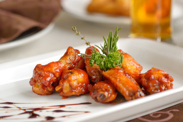 Spicy chiken wings