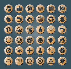 mattress and pillow icons