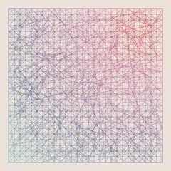 Vintage color graph paper background