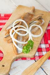 filets de hareng