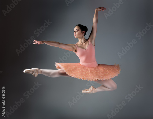 Fotobehang Dance School Female ballet dancer
