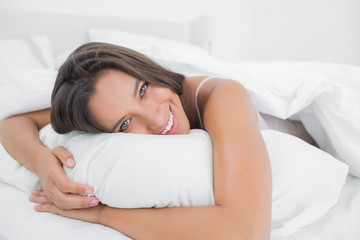 Portrait of a peaceful woman relaxing