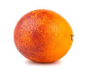 Single blood red orange