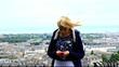 teenager texting edinburgh scotland