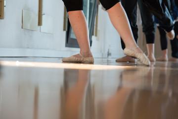 Passi di danza, allenamento