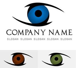Eye logo vector