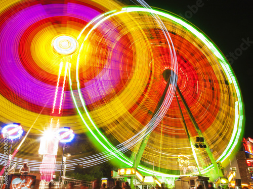 big wheel in motion