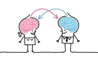 big brain couple & exchange