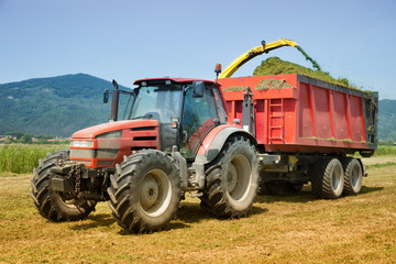 farming red tractor