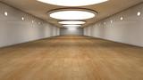 Fototapety Futuristic corridor