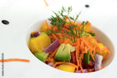 salade d'été assiette moderne 5