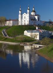Assumption cathedral in Vitebsk, Belarus