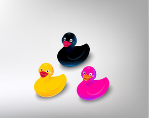 color duck