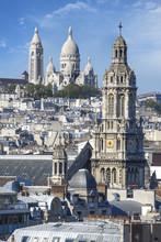 Kościół Trójcy i Bazylika Najświętszego Serca Paryżu