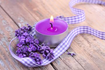 Entspannende Aromatherapie mit Lavendel
