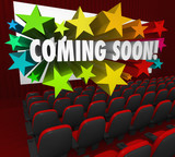 Movie Theatre Screen Coming Soon Preview Trailer New Attraction
