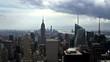 time lapse of Manhattan skyline 8 sec
