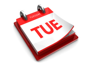 calendar icon of tuesday