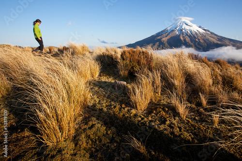 New Zealand trekking