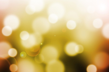 abstract  background with bokeh and lens flare