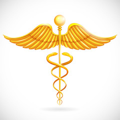 Medical Symbol Caduceus