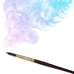 colorful Water Color Background. Abstract Background