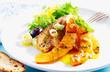 Delicious and fresh Mediterranean salad