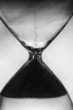 hourglass clock background