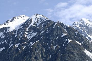ALASKA/USA _GLACIER BAY_MOUNTIANS
