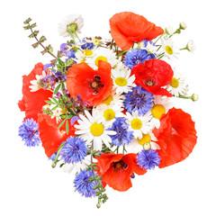 Blumenstrauß mit Mohnblumen, corn poppys