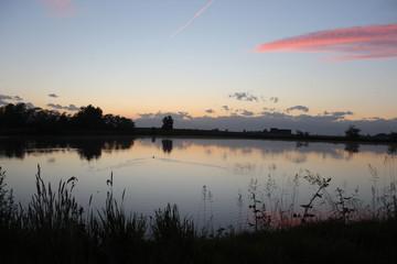 Campagna al tramonto (1)