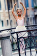 Ballet, ballerina -  beautiful ballet dancer, Venice, Italy