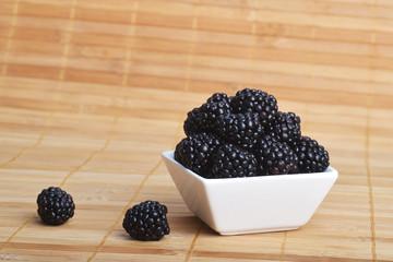 blackberry in bowl